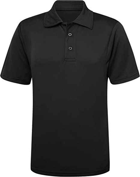 New Kids AWDis Breathable Sports Dry Polo Shirt