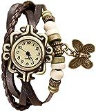 Rise N Shine Vintage Bracelet Analogue Brown Off-White Dial Women's Watch - rise0001