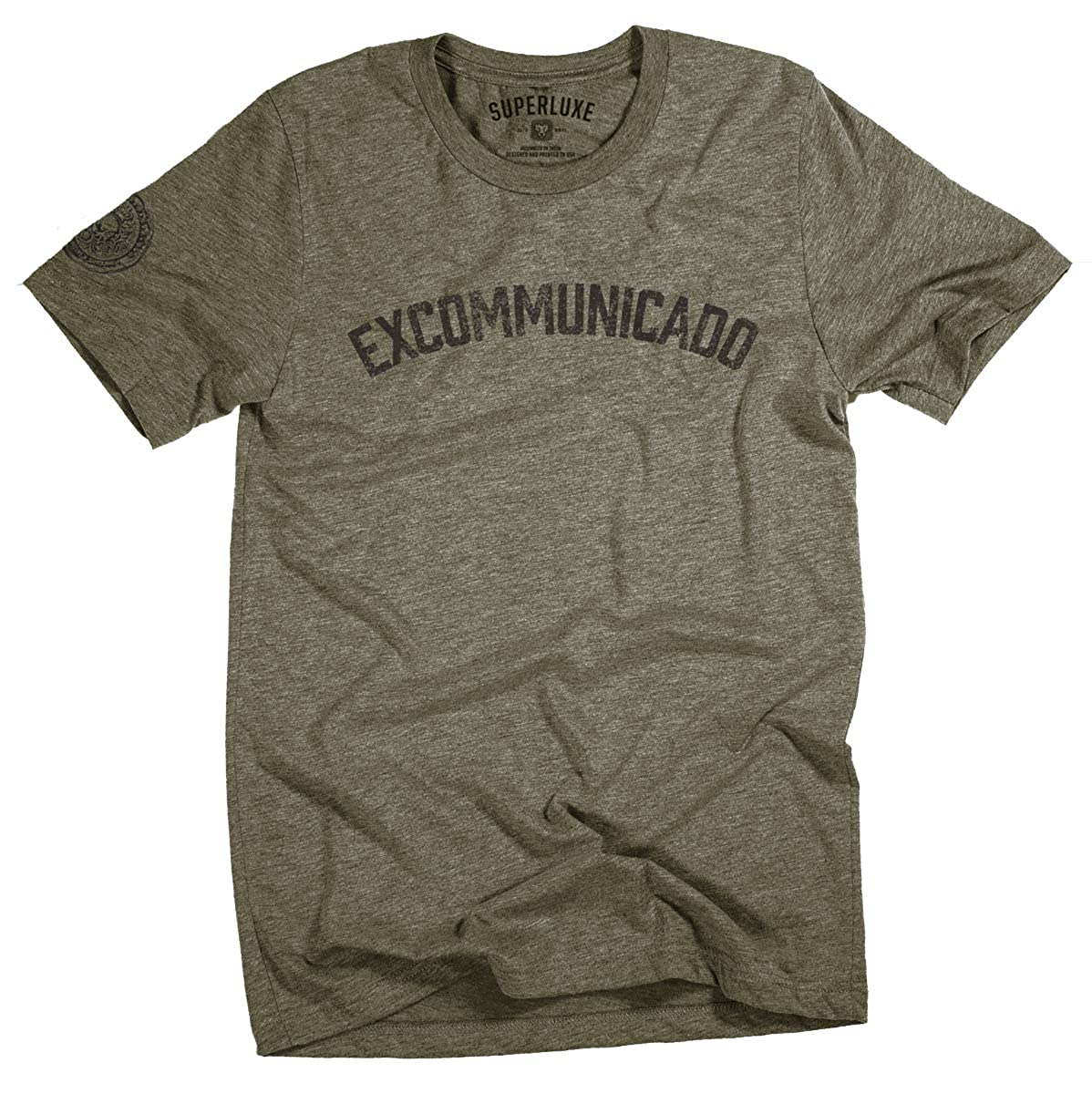 Superluxe Clothing Mens/Womens/Unisex Excommunicado Continental Wick T-Shirt