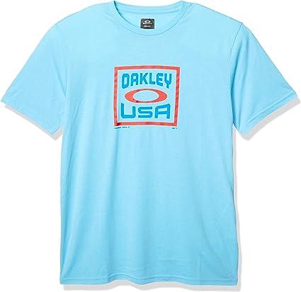 Oakley Box USA Ss - Camiseta para hombre - - Small: Amazon.es: Ropa y accesorios