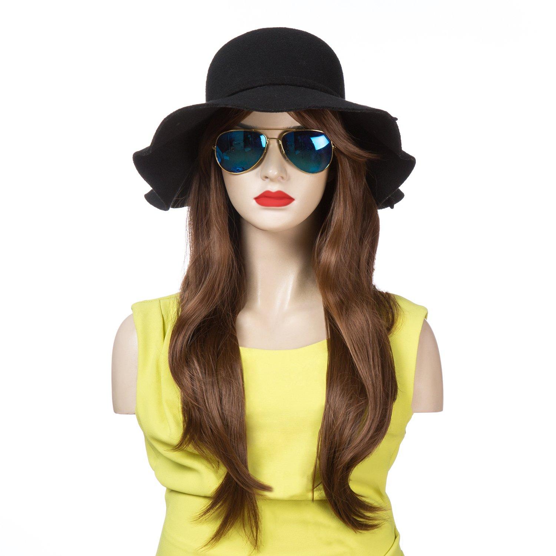 Light Blonde YOPO 28 Wig Long Big Wavy Hair Women Cosplay Party Costume Wig