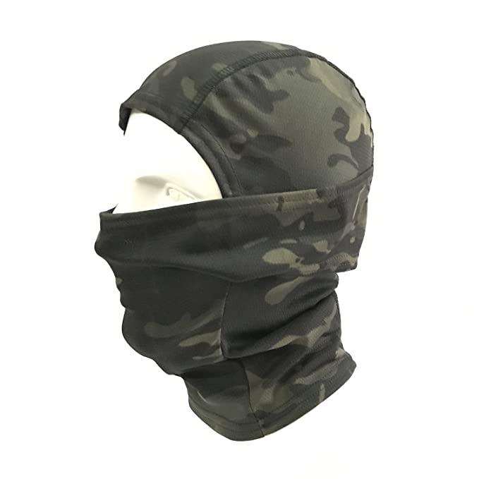 2 opinioni per WorldShopping4U Ninja Hood Camouflage Balaclava Tactical Airsoft Outdoor Caccia