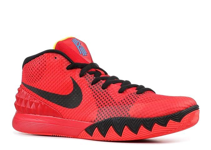 premium selection 67ce7 67c1b Amazon.com   NIKE Men s Kyrie 1, Bright Crimson Black-University Red-Blue    Basketball