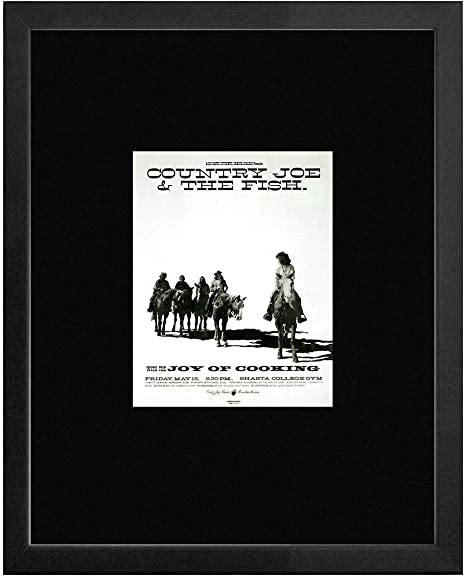 Country Joe And The Fish Joy Of Cooking Shasha College Redding California 1970 Framed Mini Poster 20x18cm Amazon Co Uk Kitchen Home