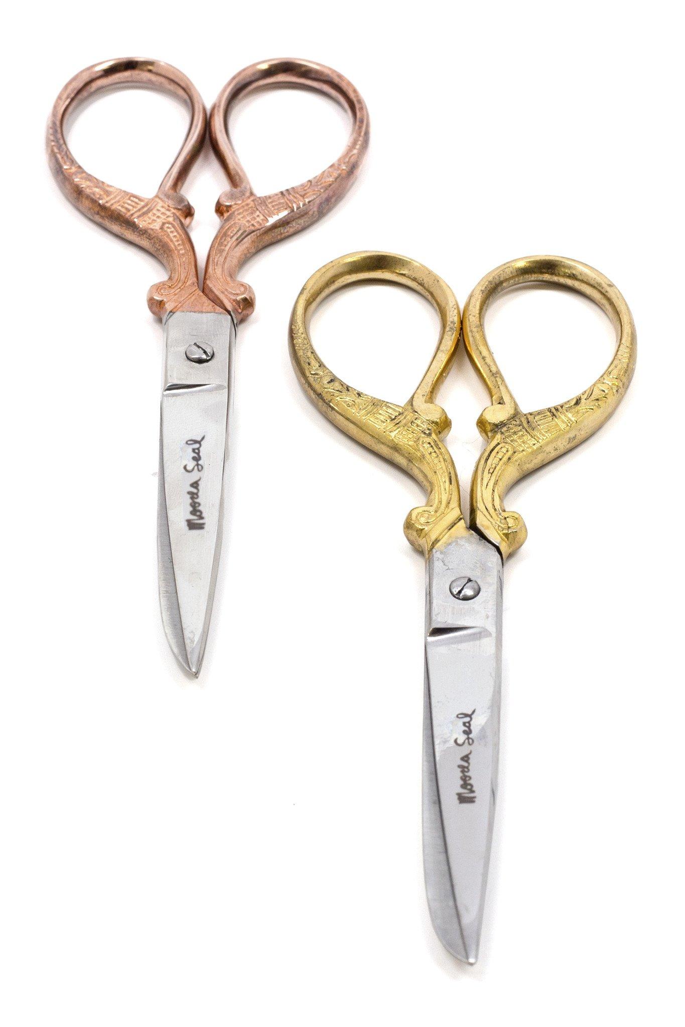 Moorea Seal Rose Gold Heritage Scissors by Moorea Seal (Image #2)