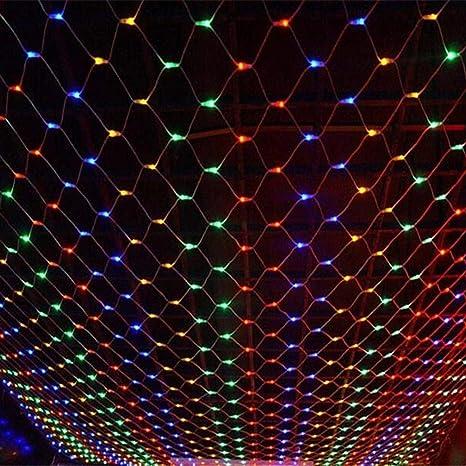 Net Luz de Navidad, luces netas, luces de la secuencia del ...