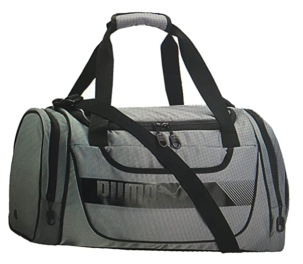 PUMA AXIUM Sport Duffel Bag (Grey/black)