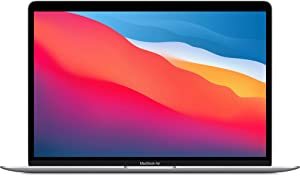 2020 Apple MacBook Air with Apple M1 Chip (13-inch, 8GB RAM, 256GB SSD Storage) - Silver