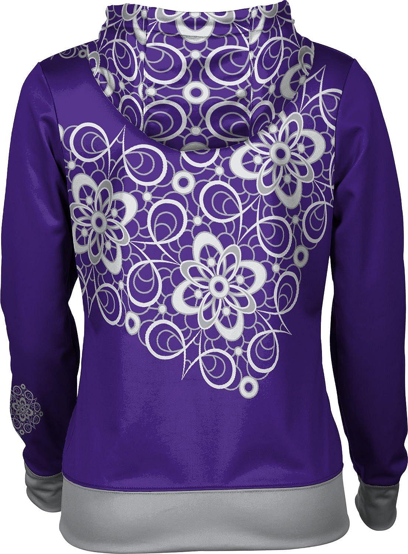 School Spirit Sweatshirt Foxy ProSphere Kansas State University Girls Zipper Hoodie