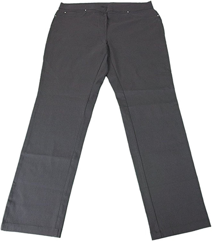 12f44cd889750 best Rafaella Ladies Comfort Fits Your Shape Slim Leg Pull-On Pants, Phantom