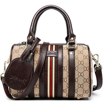 e4671c354515 Amazon.com: Kommschonff Women Messenger Satchel Crossbody Bag ...