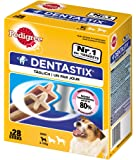 Pedigree Dentastix Dental Dog Chews - Small Dog, Pack of 4 (Total 4 x 28 Sticks)