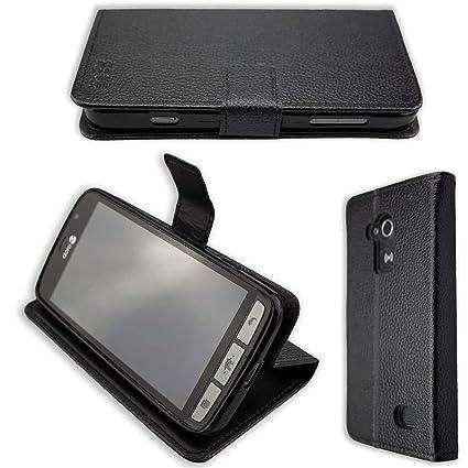 new arrivals a9638 bdd60 caseroxx Bookstyle-Case for Doro Liberto 824 / 825 Smartphone Case in black