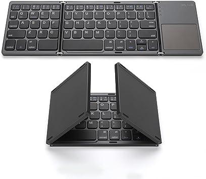 Amazon.com: Foldable Bluetooth Keyboard, Jelly Comb Pocket Size ...