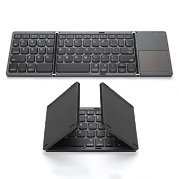 Amazon Com Foldable Bluetooth Keyboard Jelly Comb Pocket Size