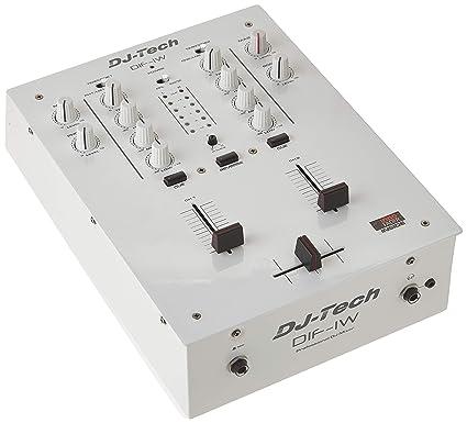 Amazon.com: DJ TECH: dif-1 W MK2 mezclador de DJ W/innofader ...