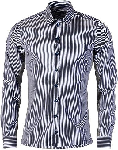Dolce & Gabbana Camisa Azul y Blanco Rayas Gris Jersey Manga Larga – ZA: Amazon.es: Ropa y accesorios
