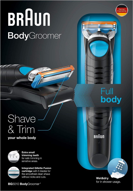 Braun BG 5010 - Afeitadora corporal para hombres, depiladora ...