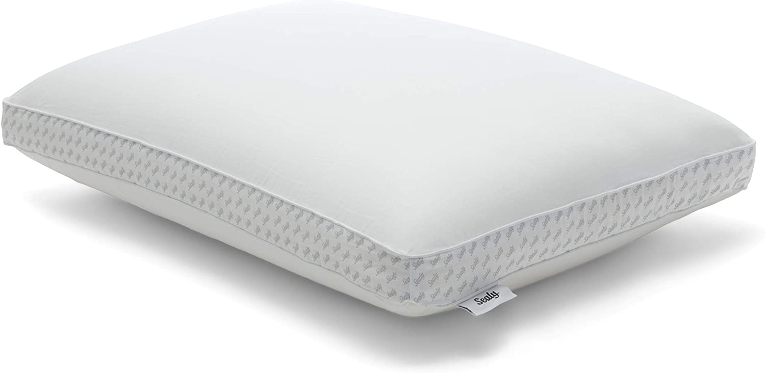 Sealy essentials Memory Foam Pillow, Standard, white