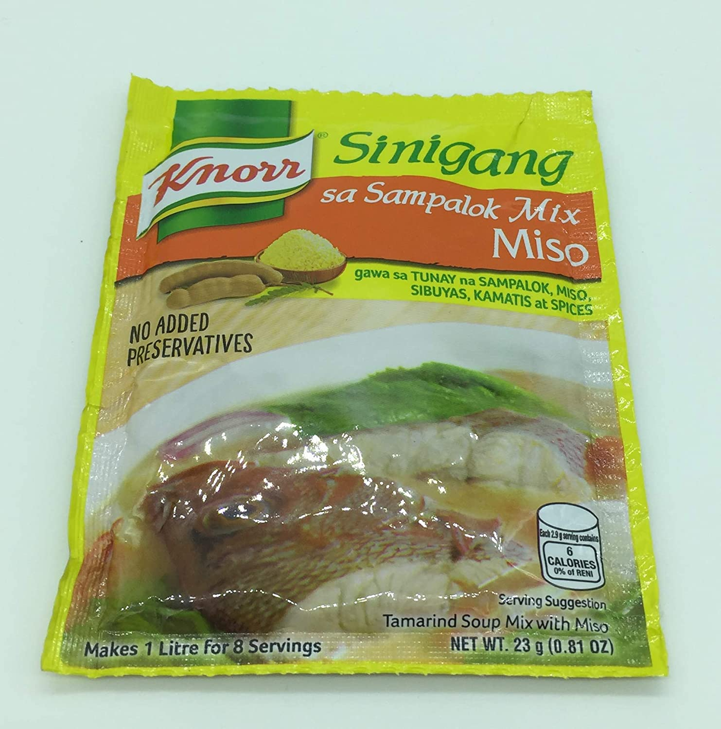 Knorr Sinigang Na May Miso 25g By N A Amazon Ca Grocery