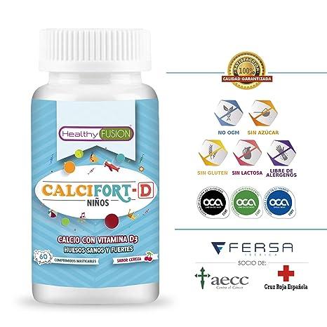 Calcio Puro microencapsulado con Vitamina D3 de alta biodisponibilidad - Huesos sanos y fuertes para el