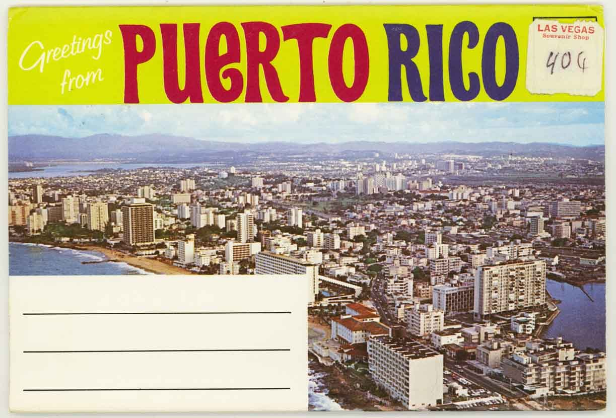 Greetings from puerto rico 1960s souvenir postcard folder greetings from puerto rico 1960s souvenir postcard folder christopher columbus emma chesrown amazon books m4hsunfo