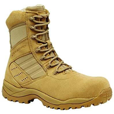 5f407c905c9e Tactical Research by Belleville Men s Guardian Hot Weather Lightweight  Composite Toe Boot Tan ...