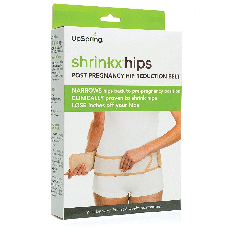 Shrinkx Hips Ultra Postpartum Hip Compression Belt X-Small//Small Black