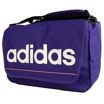 33adfc3e19b1 Adidas Retro Shoulder Record Messenger Bag Womens Mens Laptop School Boys  Girls
