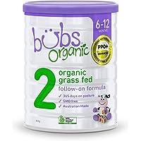Bubs Organic Grass Fed Follow On Formula 800g, 800 g