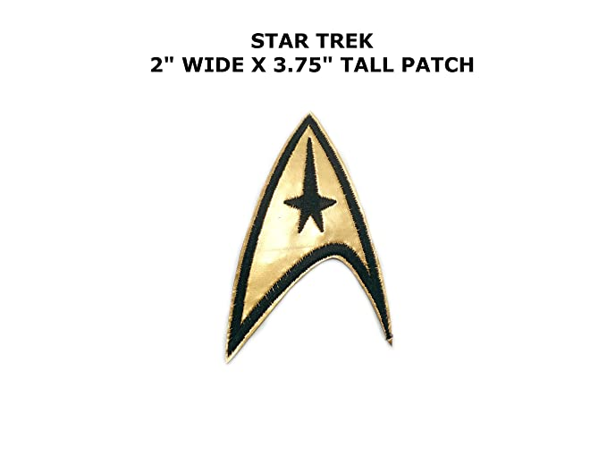 Amazon 1 X Star Trek Application Icon Patch Command Logo By