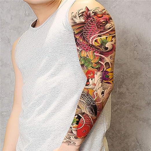 tzxdbh Etiquetas engomadas Completas del Tatuaje del Brazo ...