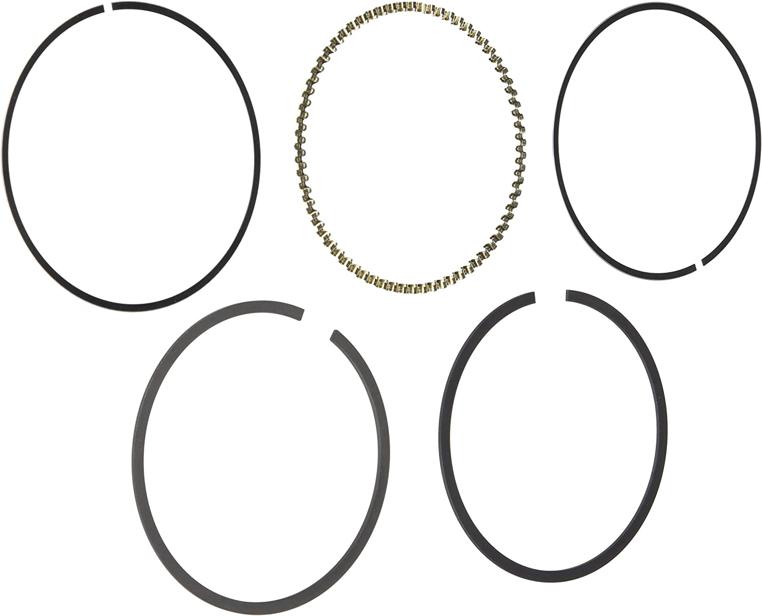 Hastings 2C4932S Single Cylinder Piston Ring Set