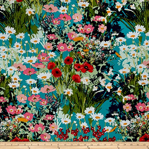 Art Gallery Fabrics Art Gallery Lavish Mother's Garden Rich Fabric by The Yard,