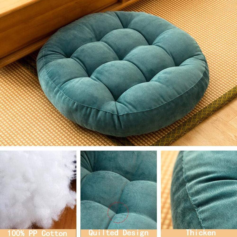 perfecthome Tatami Pattino Domestico Pouf da Pavimento Cuscino da Terra Tessuto in Lino in Cotone Futon,Estraibile e Lavabile Gestire Il Design