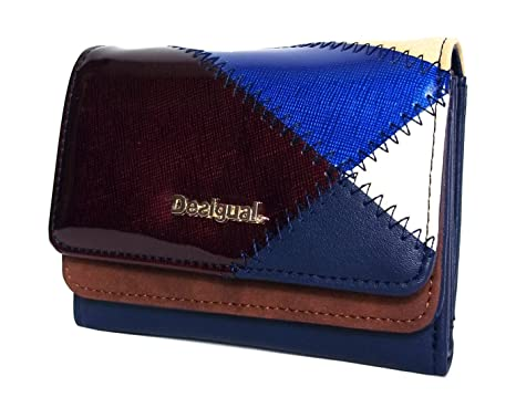 Desigual - Monedero Titan Mix - Talla única, Azul: Amazon.es ...