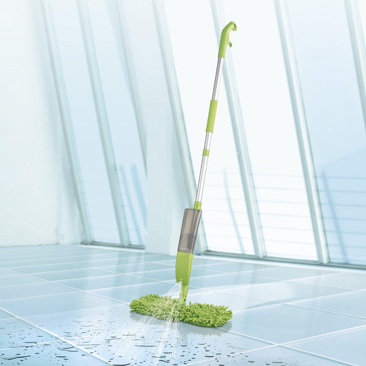 CLEANmaxx 04068 3 in 1 Spray Mop with Flexible Mop Head