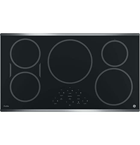 GE PHP9036SJSS Profile 36u0026quot; Stainless Steel Electric Induction Cooktop