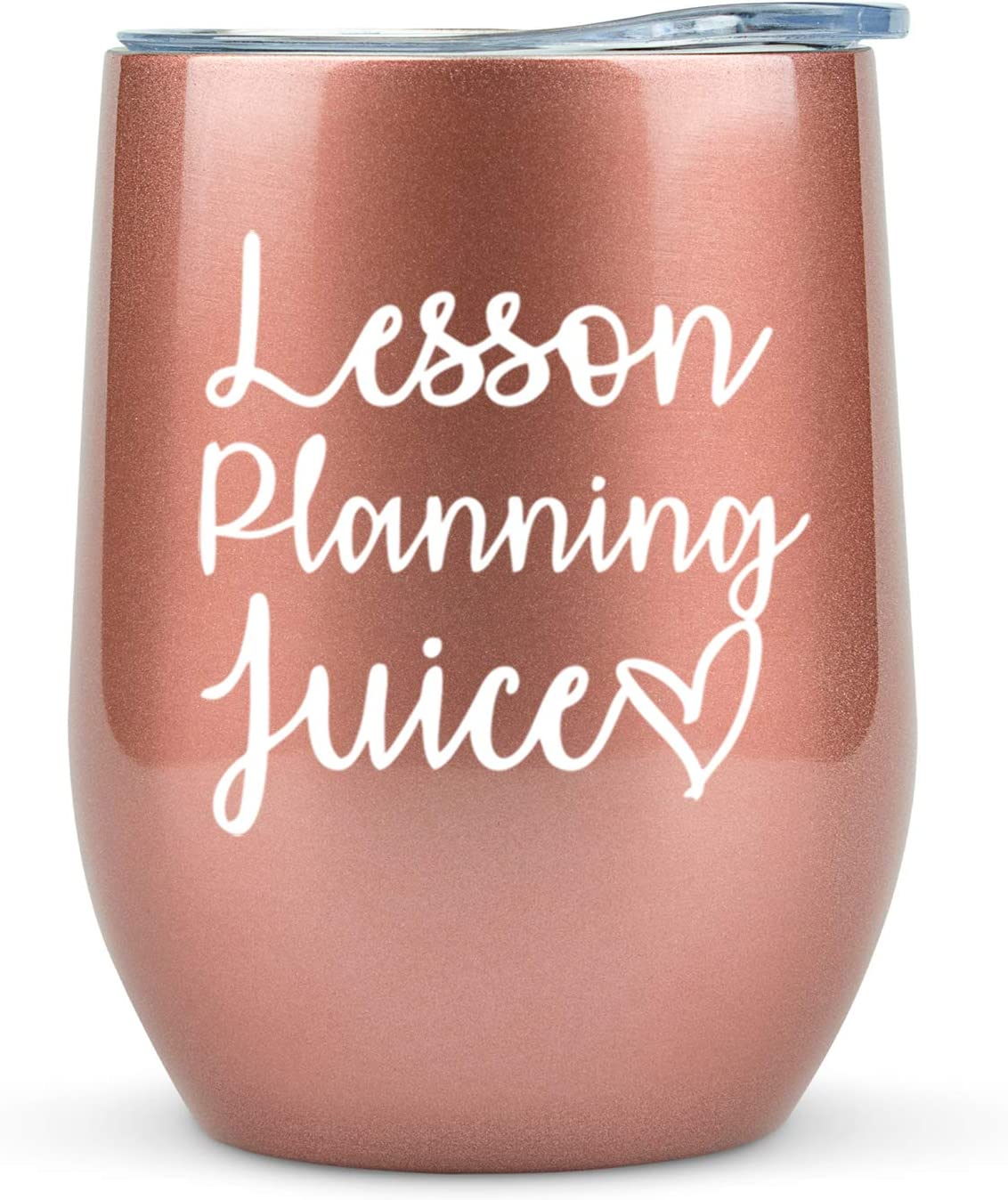 """Lesson Planning Juice"" Tumbler/Mug with Lid"