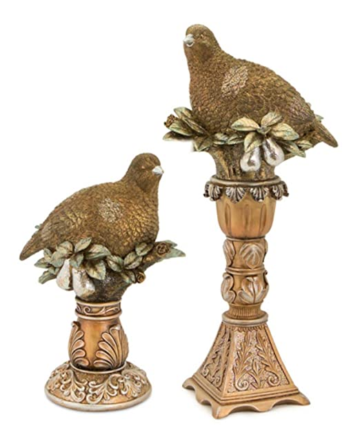 Christmas Tablescape Decor - Partridge in a Pear Tree Christmas Table Top Decoration