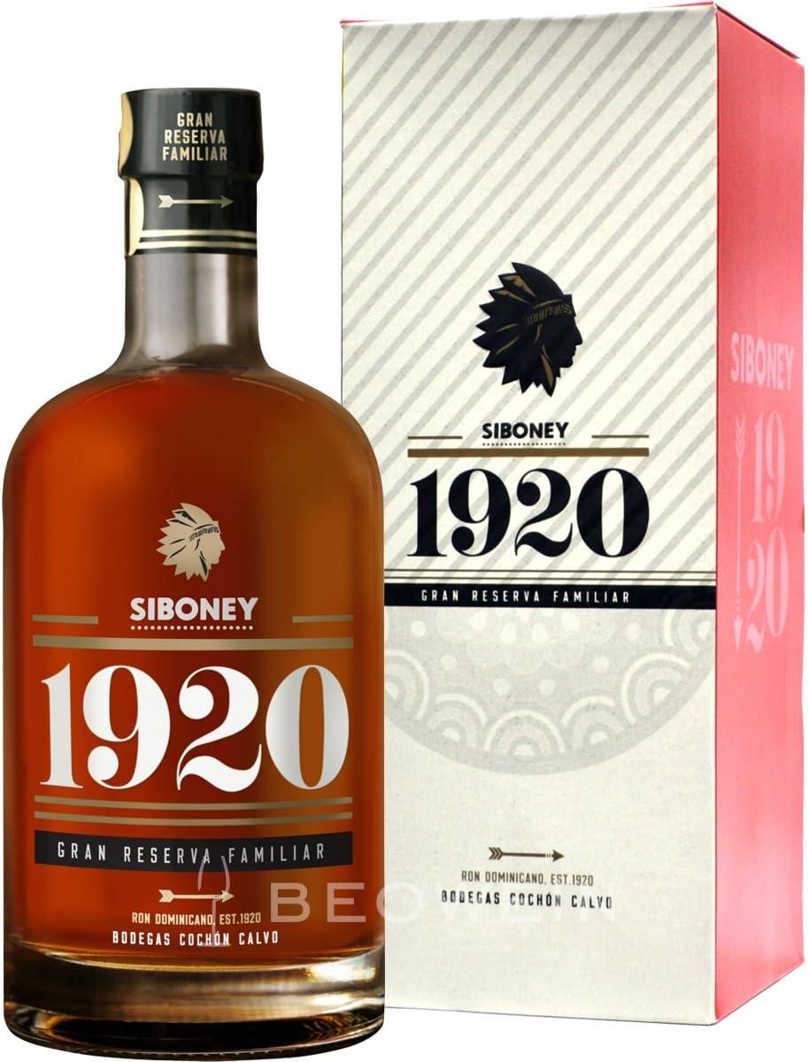 Siboney 1920 Grand Reserva Familiar - Ron, 700 ml: Amazon.es ...