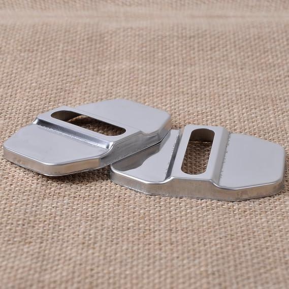 4 Stück Auto Türstopper Deckel Verschluss Gürtelschnalle Schutzfolie Für Mercedes Benz B C E Glk Ml Slk Klasse Auto