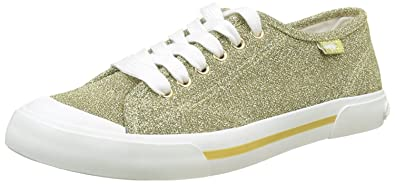 Rocket Dog Damen Jumpin Sneaker, Gold (Gold Gold), 38 EU