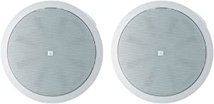 JBL Professional Control 40CS/T High-Impact In-Ceiling Subwoofer, Sold as Pair