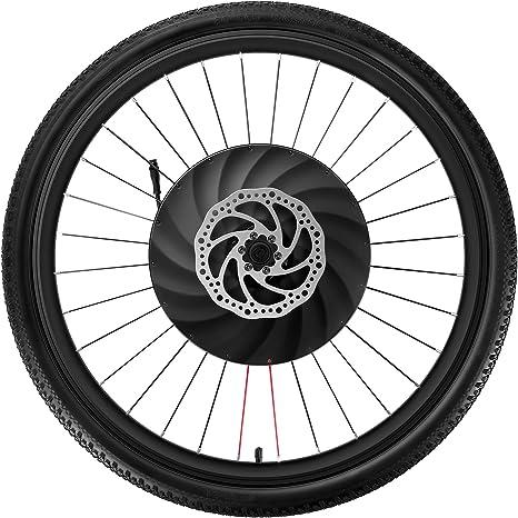 YUNZHILUN iMortor 26 Pulgadas Rueda de Bicicleta eléctrica ...