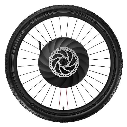 YUNZHILUN iMortor 26 Pulgadas Rueda de Bicicleta eléctrica Delantera con Bluetooth 4.0 para Android y iOS EU: Amazon.es: Deportes y aire libre