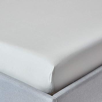 100/% Leinen Spannbettlaken 140x200 weiß Steghöhe 27 cm Rundumgummizug Neu