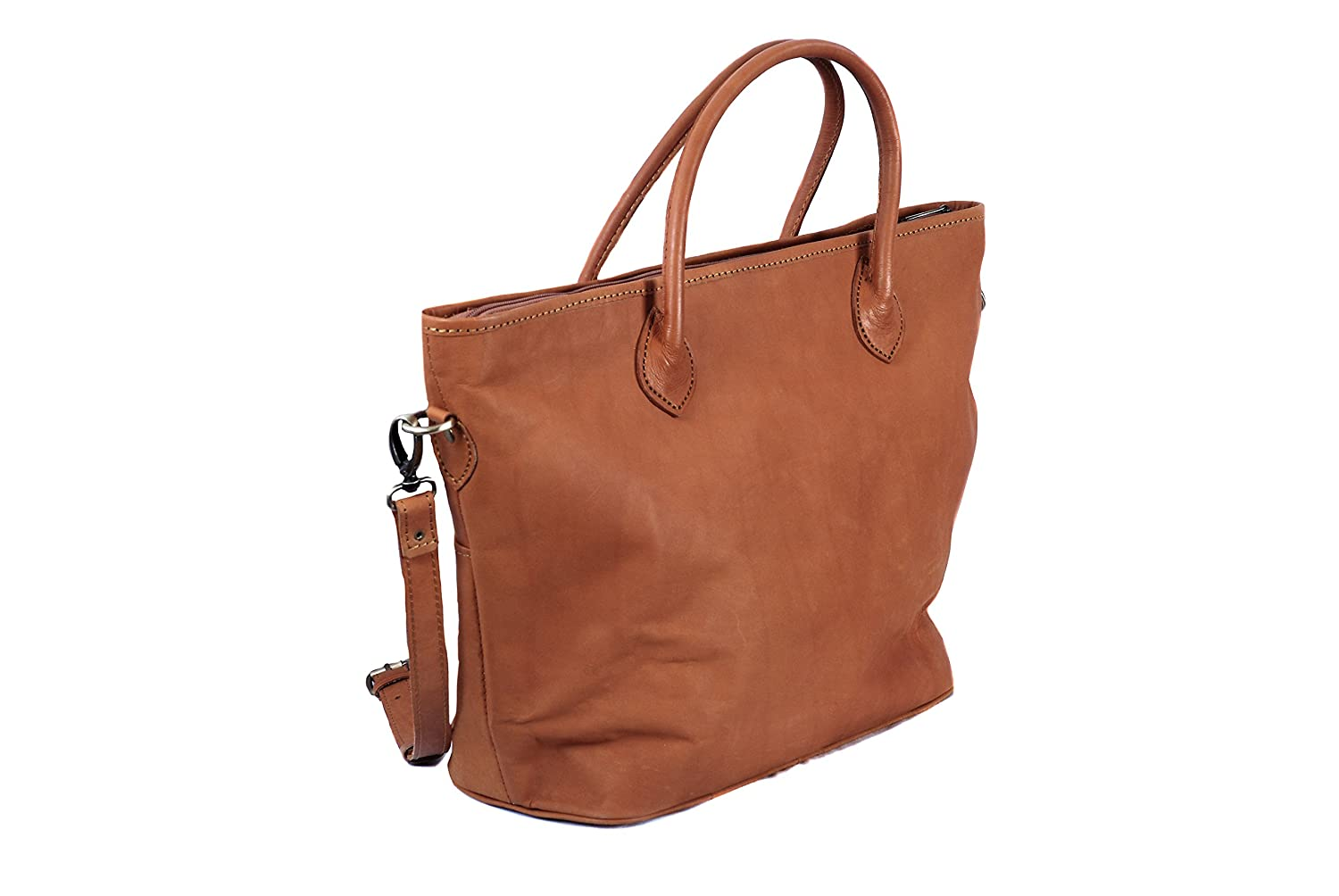 d4bf6a94fa Tan Brown Vintage Leather Large Luxury Tote Bag Designer Shopper by Ashwood   Amazon.co.uk  Shoes   Bags