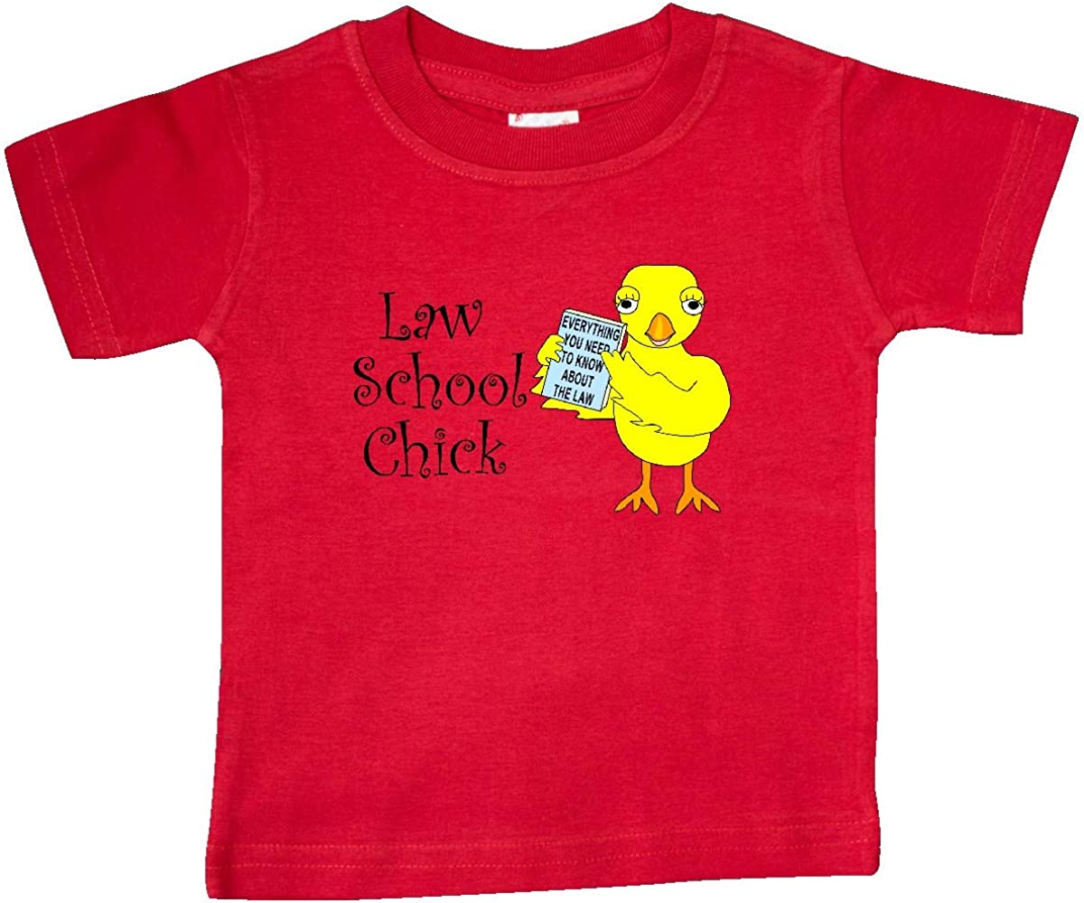 inktastic Law School Chick Baby T-Shirt