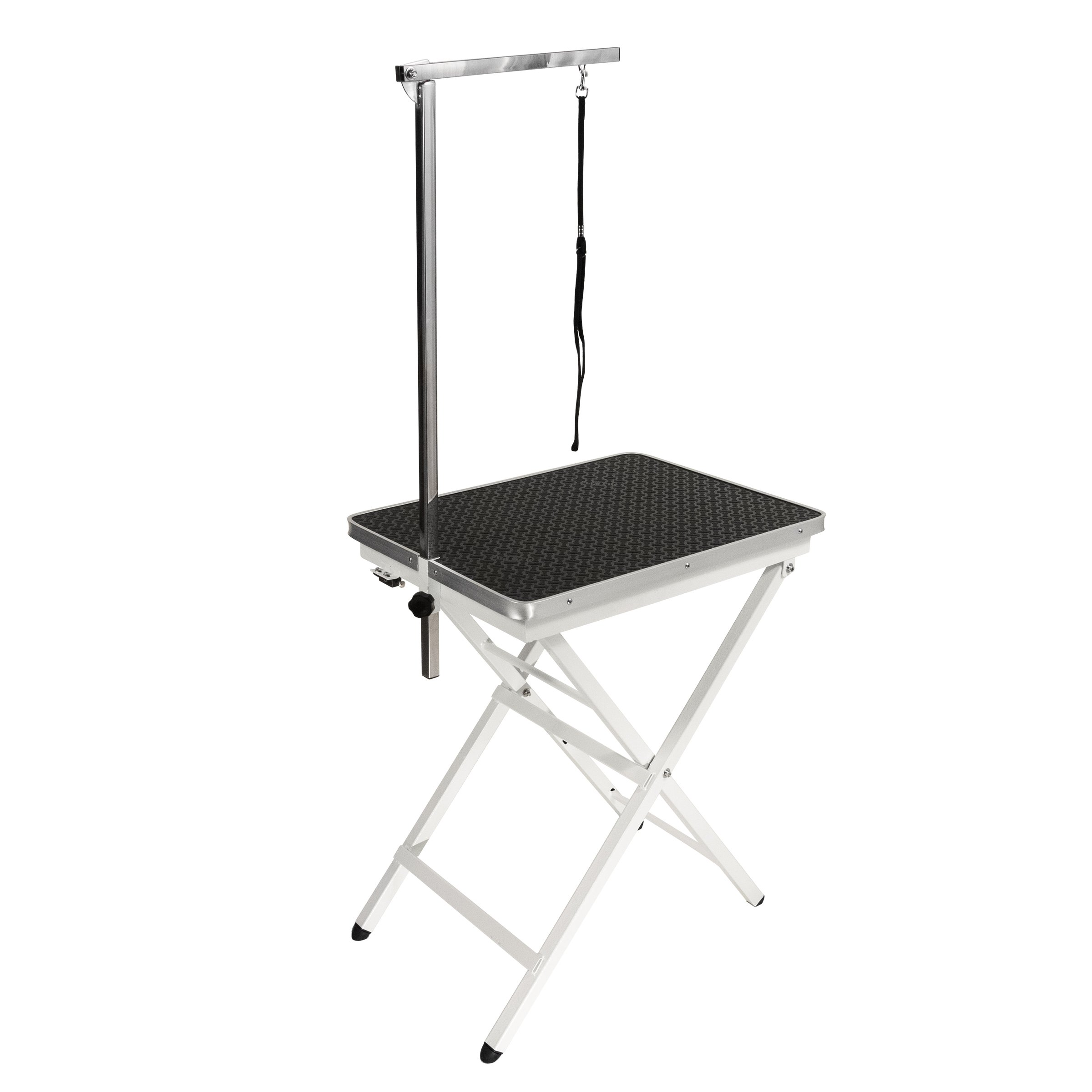 Flying Pig Grooming Pet Dog Portable Table, Black, Mini Size/24 L x 18'' W by Flying Pig Grooming